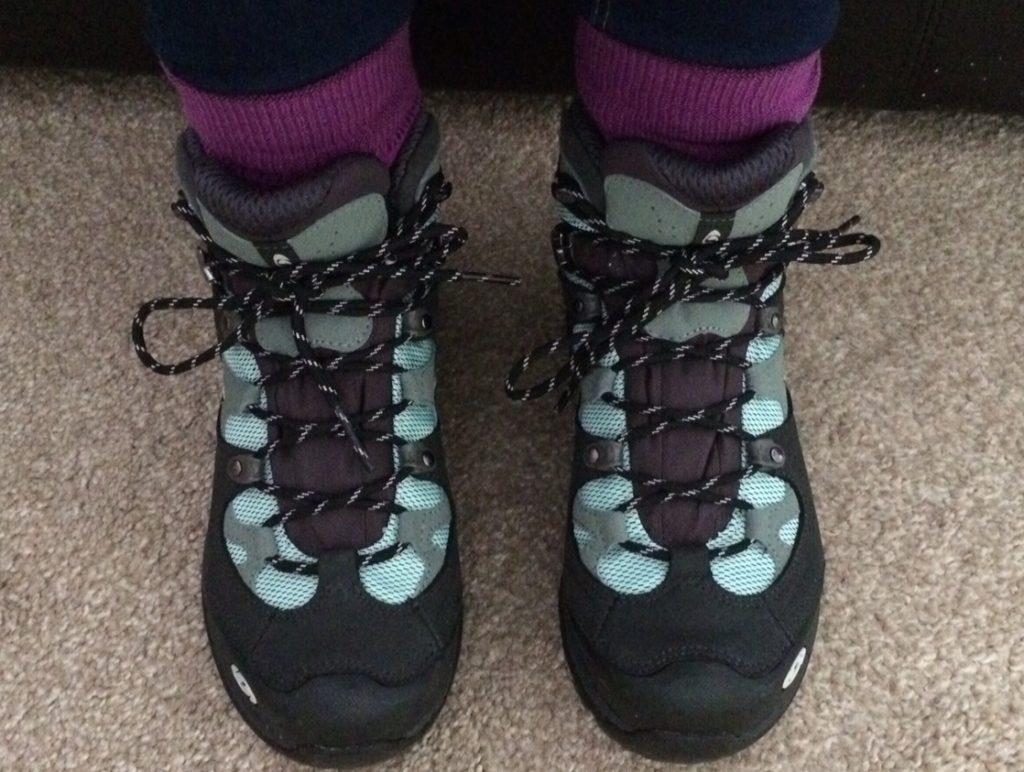 Walking Boots Saloman 3D