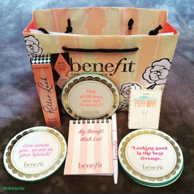 Benefit Cosmetics Goody Bag Roller Lash Puff Off