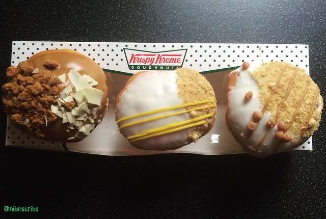 Krispy Kreme Cheesecake Doughnuts