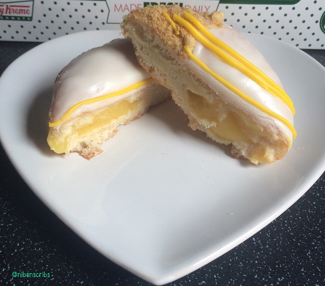 Krispy Kreme Luscious Lemon Cheesecake