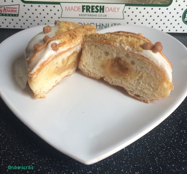 Krispy Kreme Salted Caramel Cheesecake