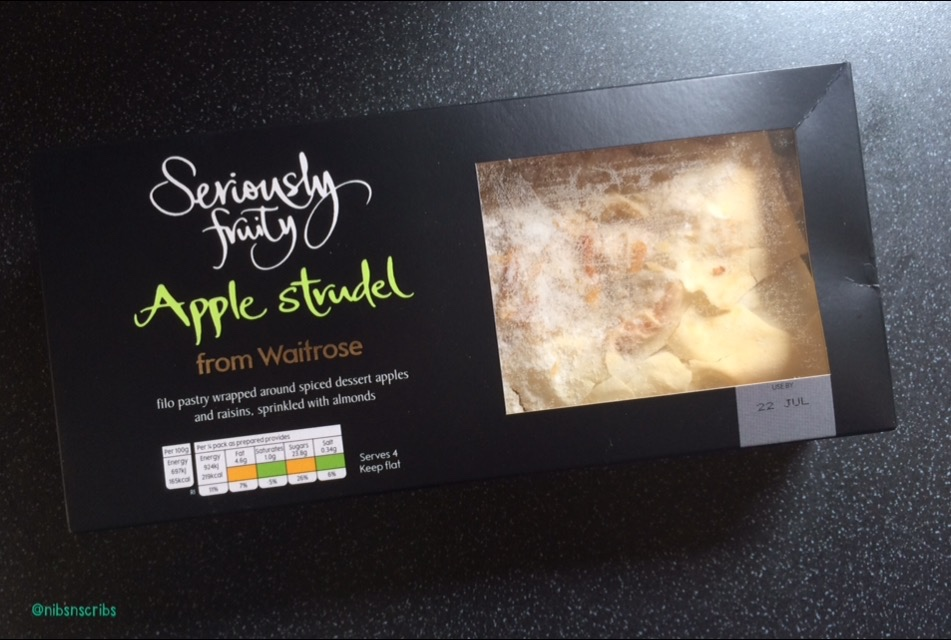 Waitrose Seriously Fruity Apple Strudel