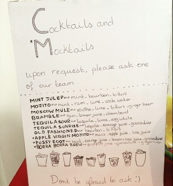 Cocktails and Mocktails