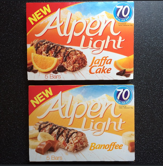Alpen Light Jaffa Cake & Banoffee