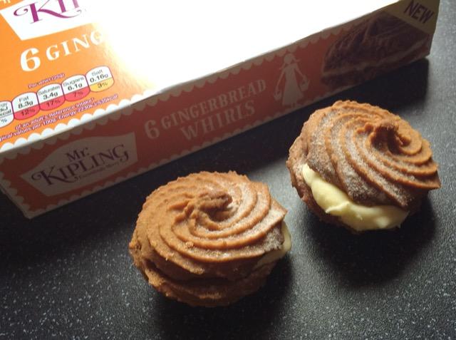Mr Kipling Gingerbread Whirls Christmas