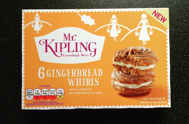 Mr Kipling Gingerbread Whirls