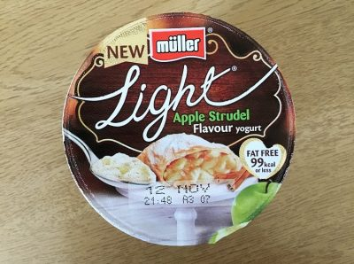 Muller Light Apple Strudel