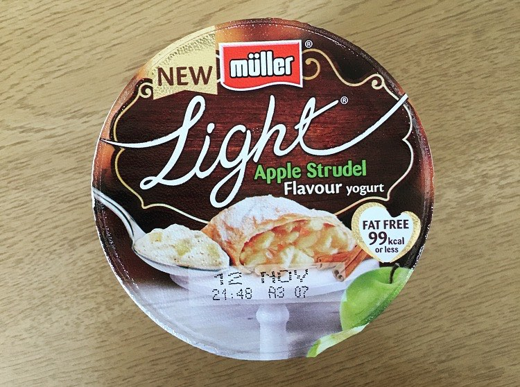 Müller Light Apple Strudel