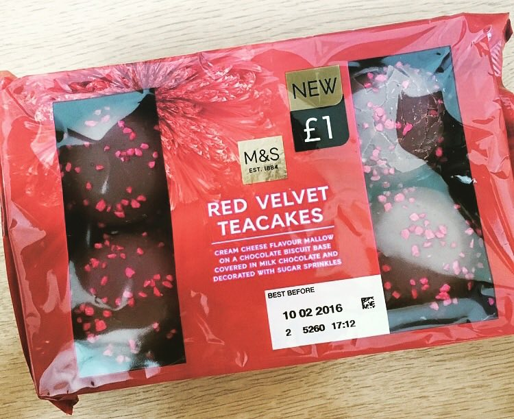 Marks & Spencer Red Velvet Teacakes