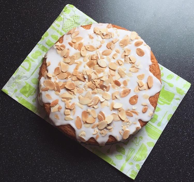 Bakedin Cherry Almond Cake