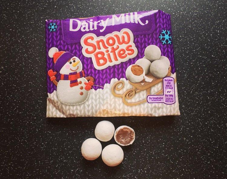 Dairy Milk Snow Bites