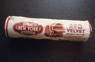 Foxs Red Velvet Crunch Creams