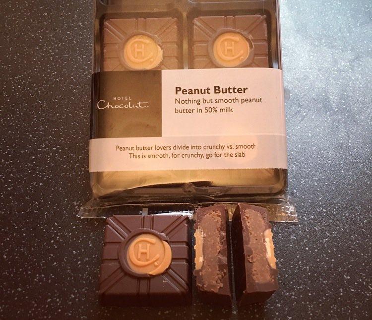 Hotel Chocolat Peanut Butter