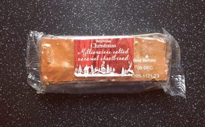 Waitrose Christmas Salted Caramel Shortbread