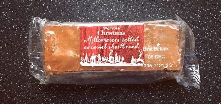 Waitrose Christmas Salted Caramel Shortbread