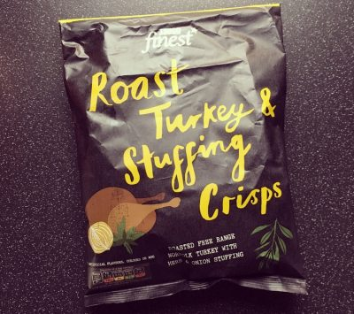 Tesco Finest Roast Turkey Stuffing Crisps