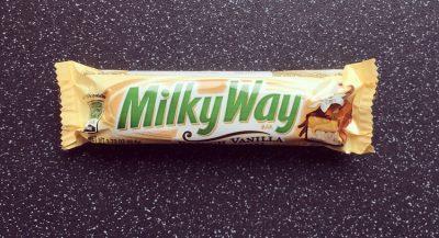 Milky Way French Vanilla and Caramel