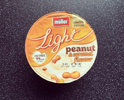 Muller Light Peanut and Caramel