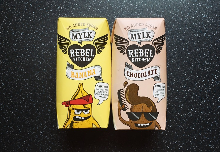 Rebel Kitchen Mylks Chocolate & Banana