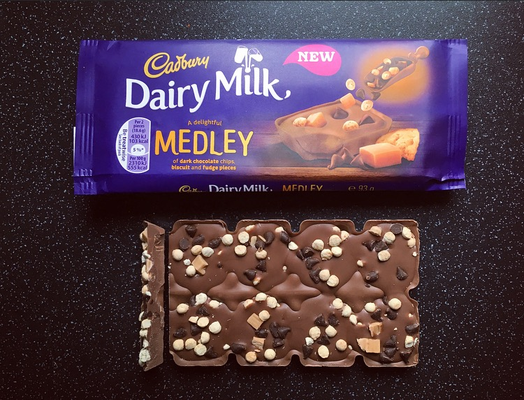 Dairy Milk Medley Fudge
