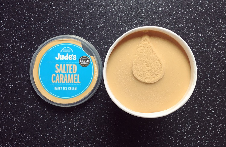 Jude's Salted Caramel Ice Cream