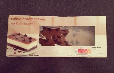 Sainsbury's Salted Caramel Torte