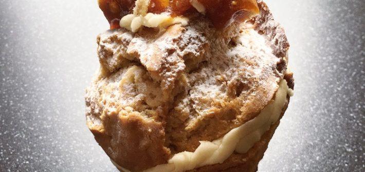 Muffin Break Peanut Butter Banana & Caramel Muffin