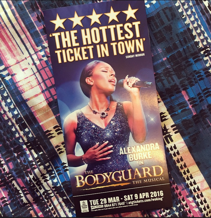 The Bodyguard Musical Woking