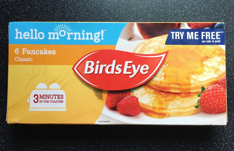 Birds Eye Classic Pancakes
