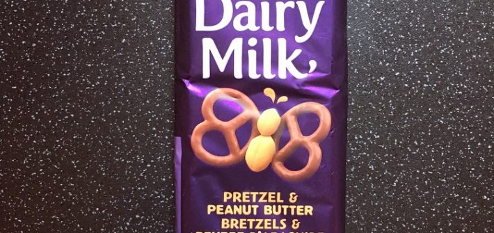 Cadbury Dairy Milk Pretzel & Peanut Butter