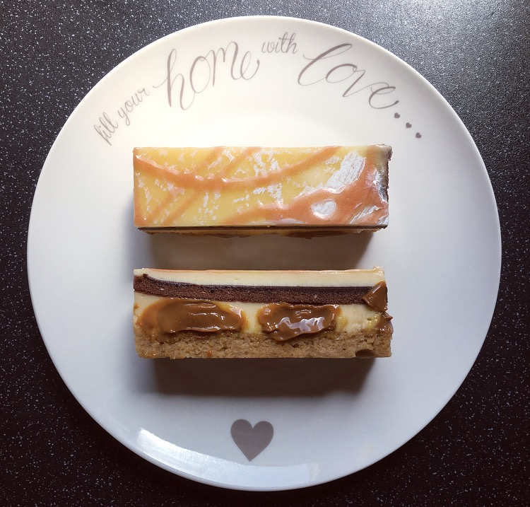 M&S Banana & Dulce De Leche Slice