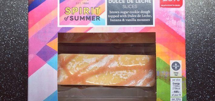 M&S Banana & Dulce De Leche Slices