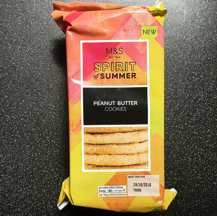 M&S Peanut Butter Cookies
