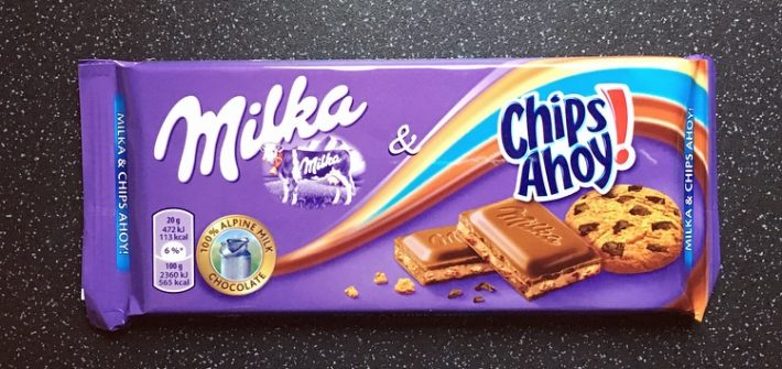 Milka and Chips Ahoy!