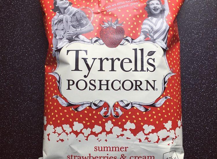 Tyrrells Summer Strawberries and Cream Poshcorn