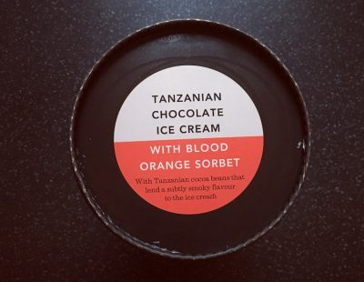 Waitrose Tanzanian Chocolate with Blood Orange