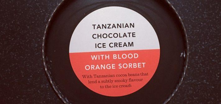 Waitrose Tanzanian Chocolate with Blood Orange