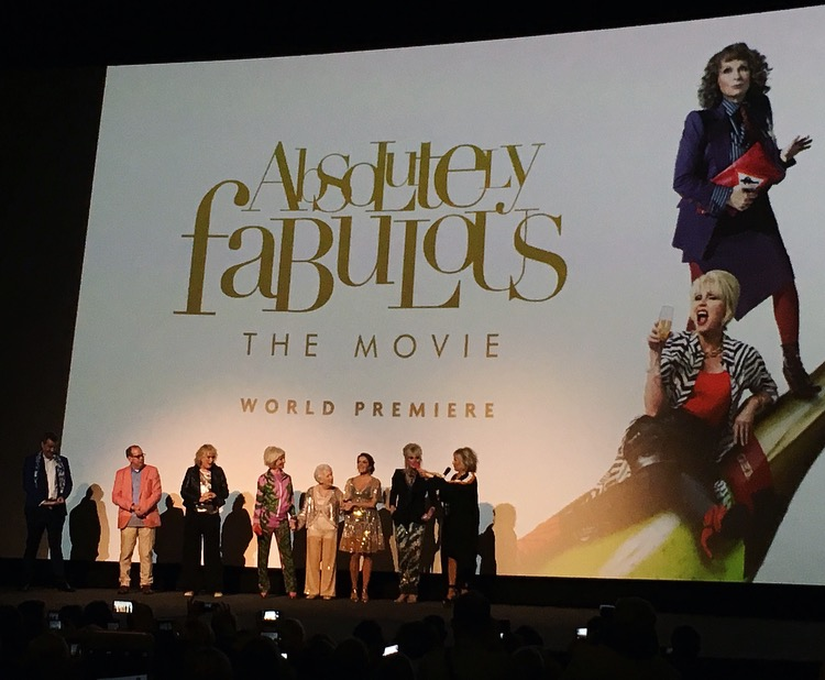 Absolutely Fabulous Movie Cast and Directors Introduction