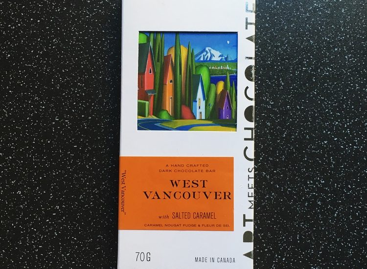Art Meets Chocolate West Vancouver with Salted Caramel