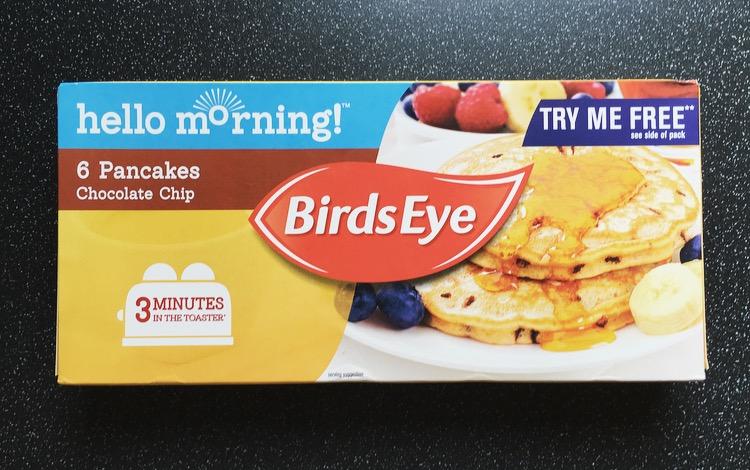 Review: Birds Eye Chocolate Chip Pancakes