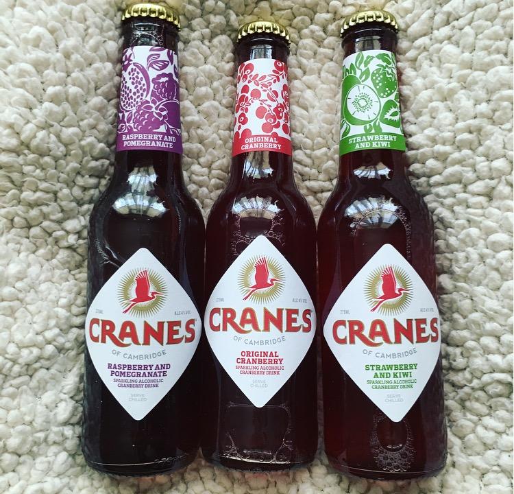 Cranes Cranberry 'Cider'
