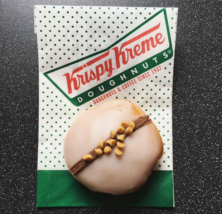 Limited Edition Krispy Kreme Reese's Peanut Butter & Jelly