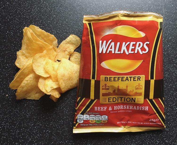 Walkers Beef & Horseradish