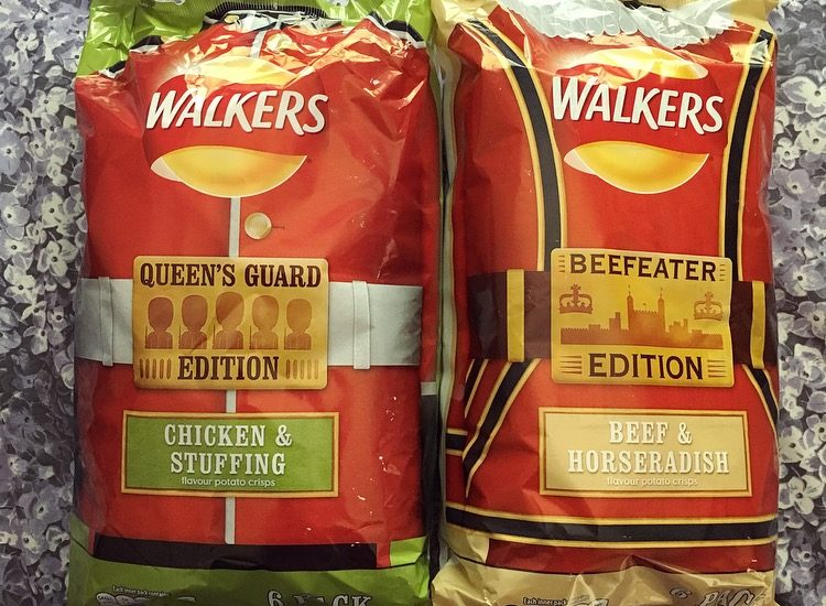 Walkers Queen's Guard & Beefeater Edition