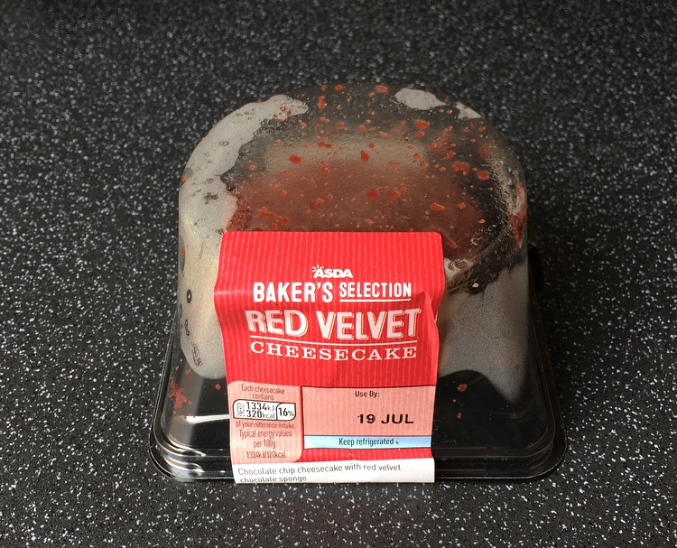 Asda Bakers Selection Red Velvet Cheesecake