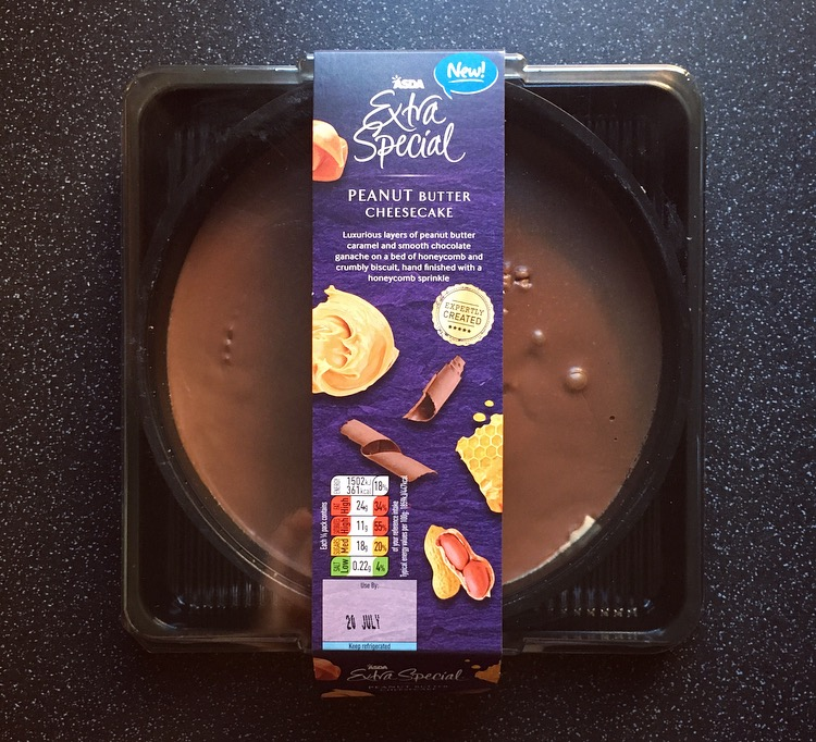 Asda Peanut Butter Cheesecake