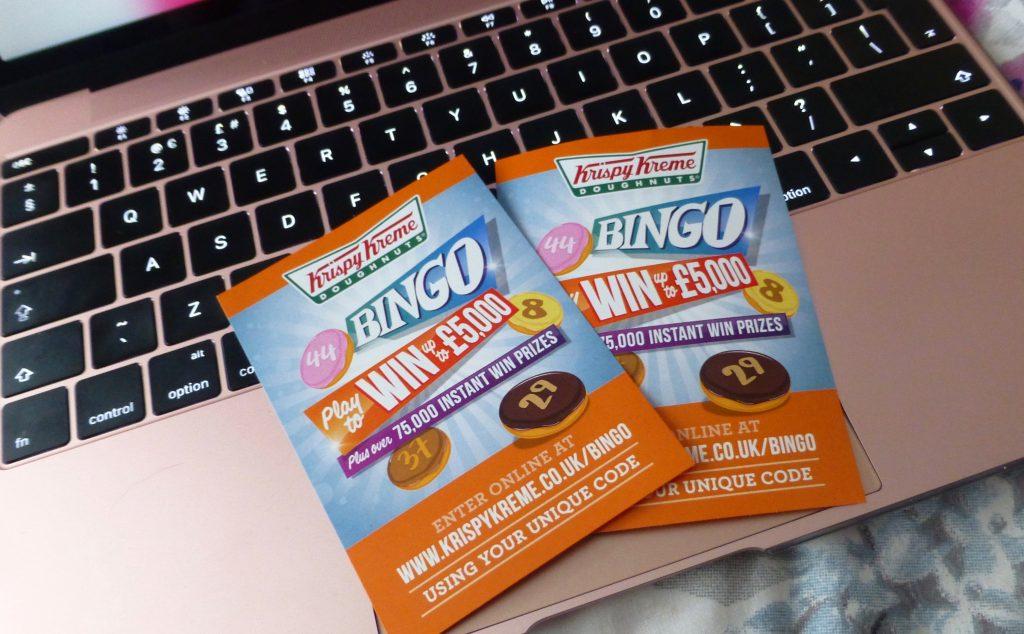 Krispy Kreme Bingo Promotion