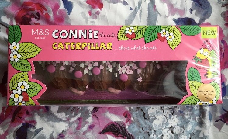 M&S Connie Caterpillar Birthday Cake
