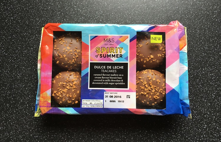 M&S Dulce de Leche Teacakes