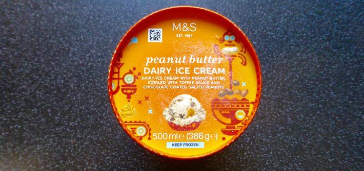 M&S Peanut Butter Ice Cream